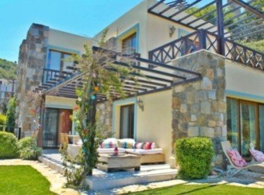 1014 1 Luxury villa for sale Gumusluk Bodrum
