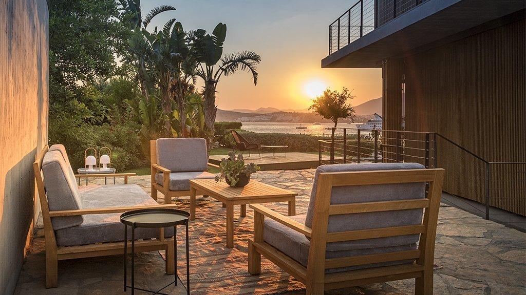 Bodrum beach front villas