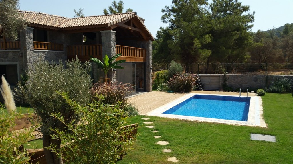 Bodrum Stone Villa with Private Pool
