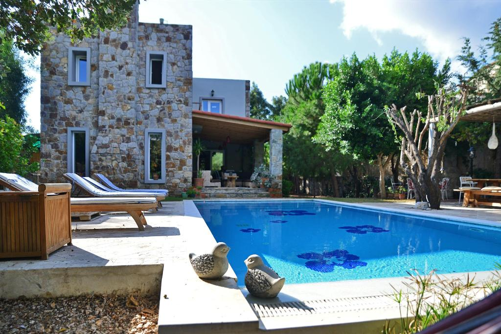 Beautiful Bodrum Stone Villa with Private Pool