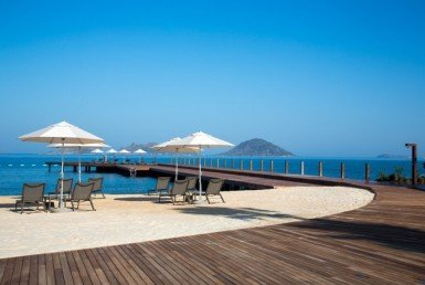 Private beach for villas Turgutreis