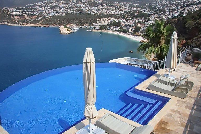 LUXURY Kalkan Villa, Panoramic Views, Sea Access