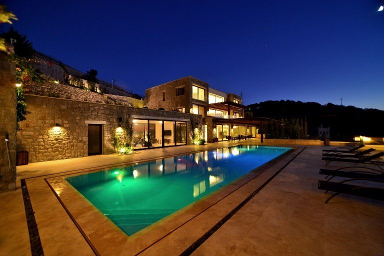 Bodrum Peninsula's MOST Iconic STAND OUT Villa