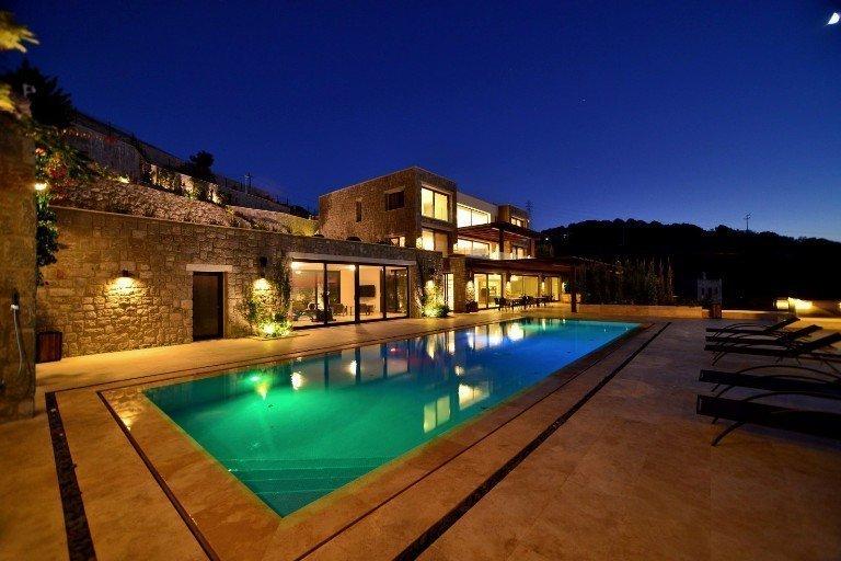 Bodrum Yarımadası'nın En Dikkat Çekici Villası