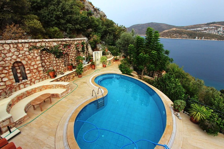 Kalkan Sea Front Villa with Total Privacy