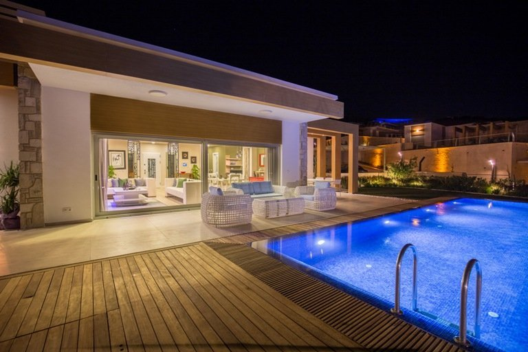Luxury Single Storey Bodrum Villa Sea View