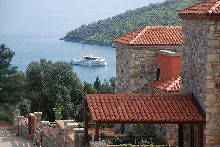 A Sailors Paradise Small Retreat of Five Stunning Stone Cottages for Sale in Gokova