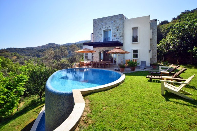 Exclusive Private Villa in a Large and Natural Garden in Yalikavak Bodrum