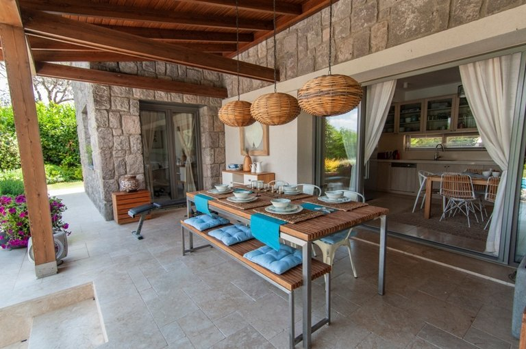 Outdoor living in Bodrum