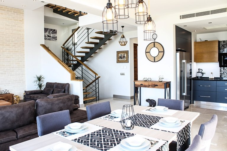 Bodrum open plan living