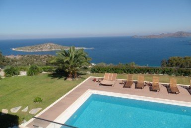 1050 09 Luxury villa for sale Gumusluk Bodrum