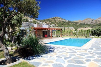 1053 04 Luxury villa for sale Gumusluk Bodrum