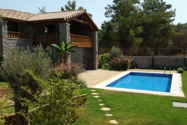 2018 14 Luxury stone villa for sale Torba Bodrum