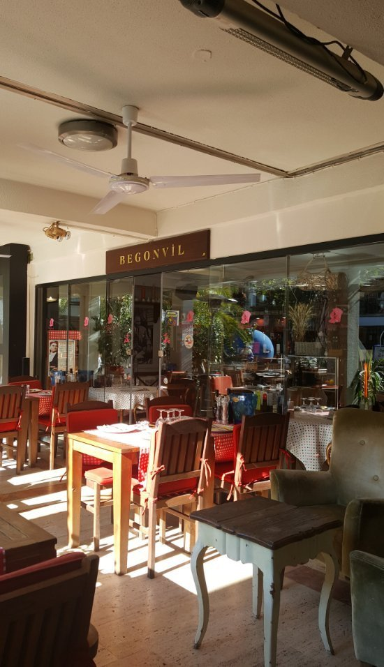 Begonvil Restaurant, Oasis, Bodrum, Turkey