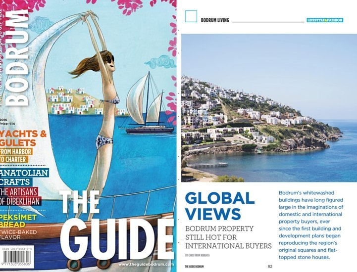 Luxury Property Turkey Feature in the Bodrum Guide 2016
