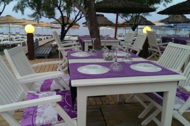 Rokka Beach Tables at Zest Hotel, Ortakent