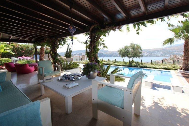 sea view villa with private pool