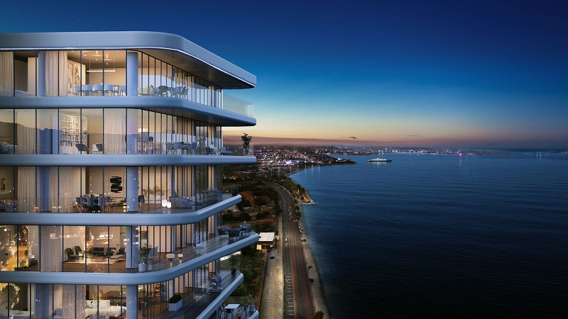Stunning seafront Istanbul apartments for sale