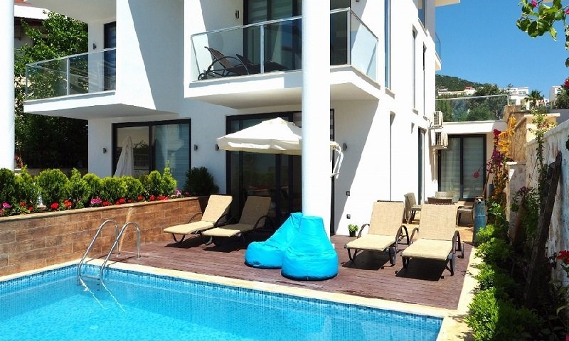 Apartment in Kalkan with Private Pool for sale