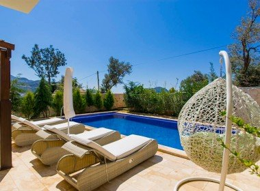 01 Luxury duplex apartments for sale in Kalkan 4069