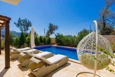 01 Luxury duplex apartments for sale in Kalkan 4069