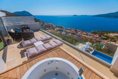 Kalkan Panoramic View Penthouse
