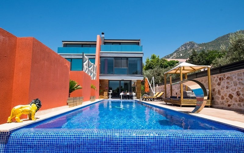 Kalkan Villa Private Swimming Pool