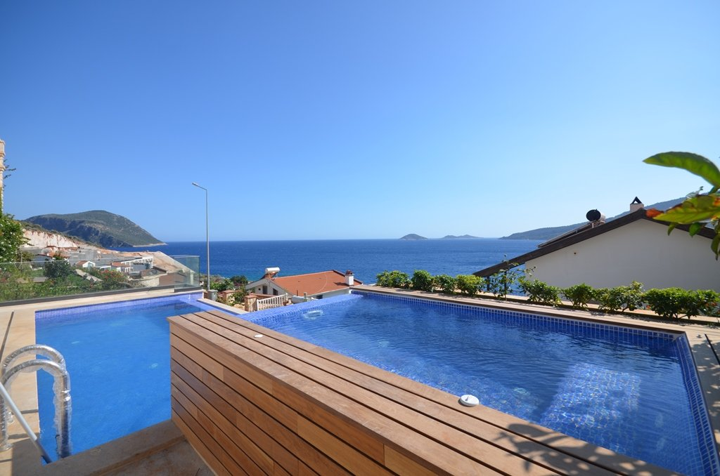 Kalkan Villa for Sale with Sea Views and Infinity Pool
