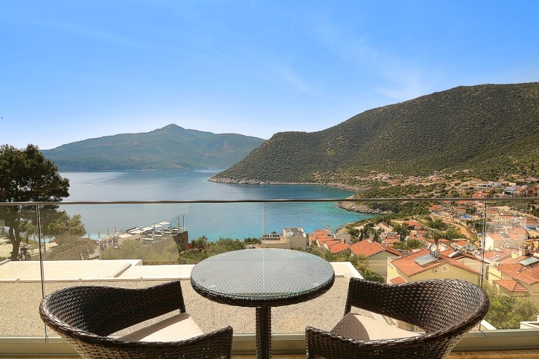 sea view villa in Kalkan