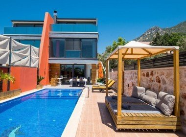 Kalkan 3 Bedroom Villa with Private Swimming Pool