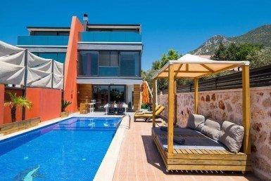 Kalkan 3 Bedroom Villa with Private Swimming Pool