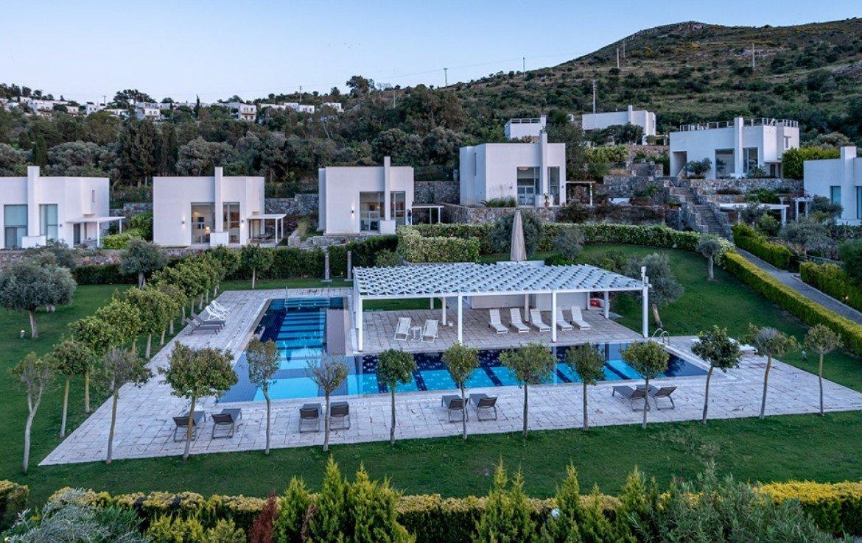 contemporary Bodrum villas