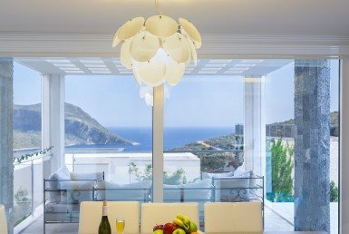 06 Modern sea view villa for sale Kalkan 4067