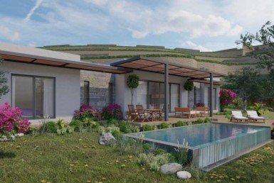 01 Modern single storey villa Bodrum Konacik 2037