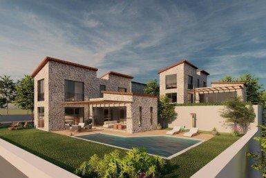 01 Detached villa for sale Bodrum Bitez 2204