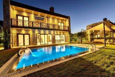 01 Luxury stone villa for sale Bodrum Yalikavak 2206