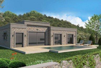 01 Single level villa for sale Bodrum Yalikavak 2207