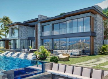 01 Luxury Mansion for sale with sea view Bodrum Yalikavak 2210