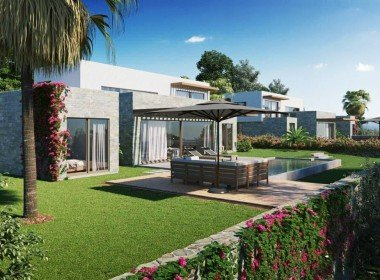 01 Private villa for sale with pool Bodrum 2209