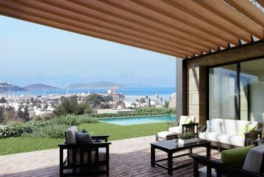 01 Sea view villas for sale Bodrum Yalikavak 2218