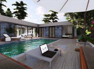 01 Luxury private pool villa for sale Bodrum Torba 2223